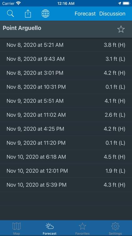 NOAA Weather & Tides screenshot-4