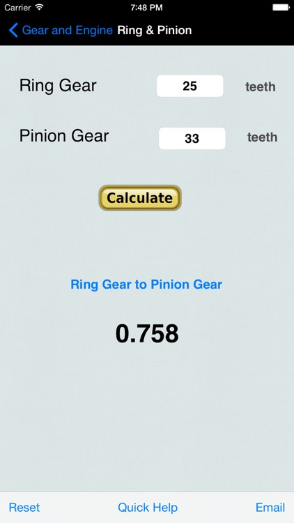Gear & Engine Calculator screenshot-3
