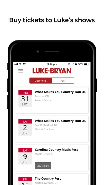 Luke Bryan screenshot-4