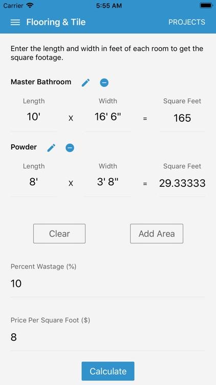 Calculator for Contractors screenshot-6