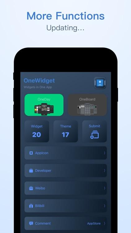 OneWidget - Widgets in One App screenshot-8