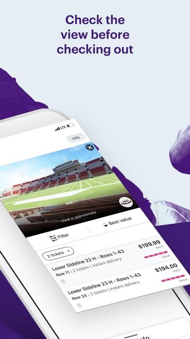StubHub - Mobile Event Tickets app image