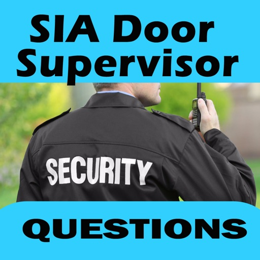 SIA Door supervisor Licence icon