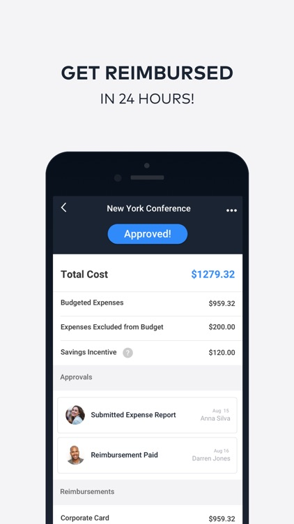 TravelBank Expenses and Travel screenshot-4