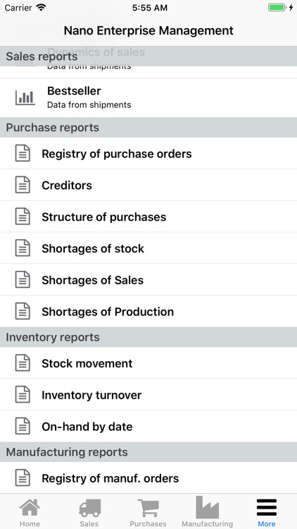 Nano Enterprise Management screenshot-8