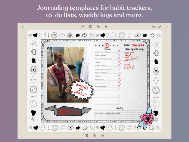 Zinnia Journal Brings Creative Journaling With a Punch to the iPad Image