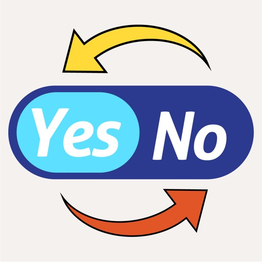 Yes - No Reverse Stickers