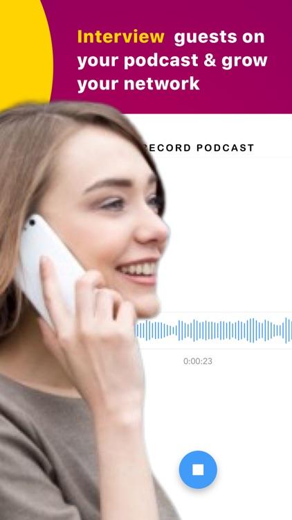 CallCast.co - Podcast Maker screenshot-6