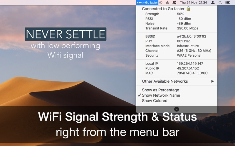 Wifi Signal Strength Explorer | App Price Drops