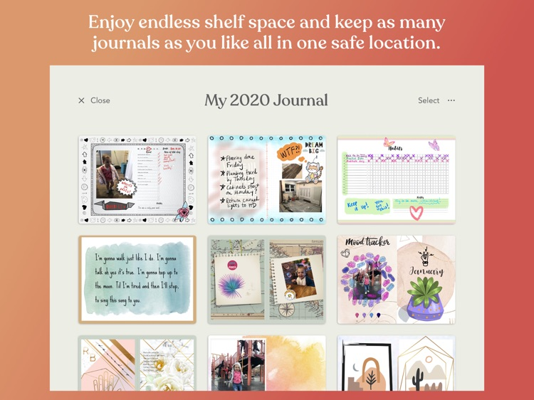 Zinnia Journal & Planner screenshot-5