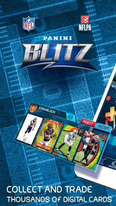 NFL Blitz - Trading Card Games Screenshot