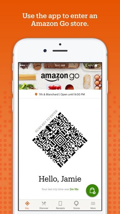 Amazon Go Screenshot