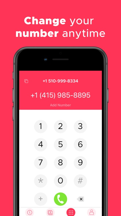 Change Phone Number with Numbr