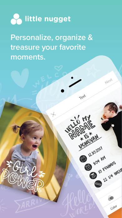 Download Little Nugget: Baby Milestones for Android