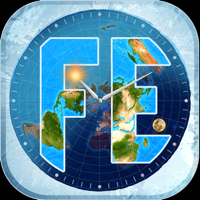 Flat Earth Sun, Moon & Zodiac - Blue Water Bay Cover Art
