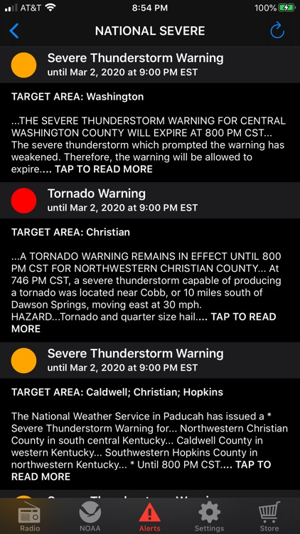 NOAA Weather Radio screenshot-5