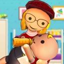 Stickman Newborn Babysitter 3D