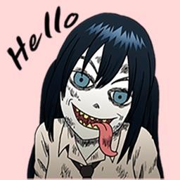 Zombie Girl Emojis