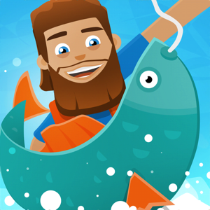 Hooked Inc: Fisher Tycoon Games app