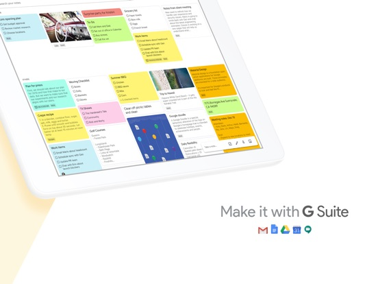 Screenshot #5 for Google Keep - Notes and lists