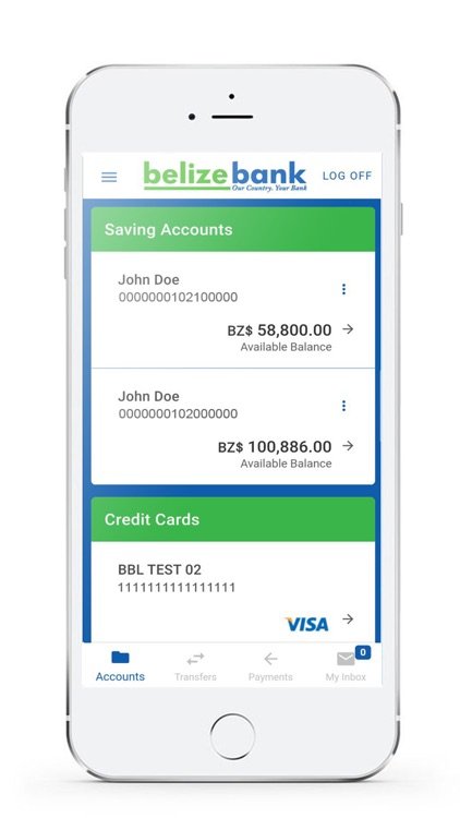 Belize Bank Mobile Banking screenshot-3