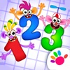 幼儿园宝宝学数字: 数学启蒙教育儿童游戏2-4岁婴儿早教