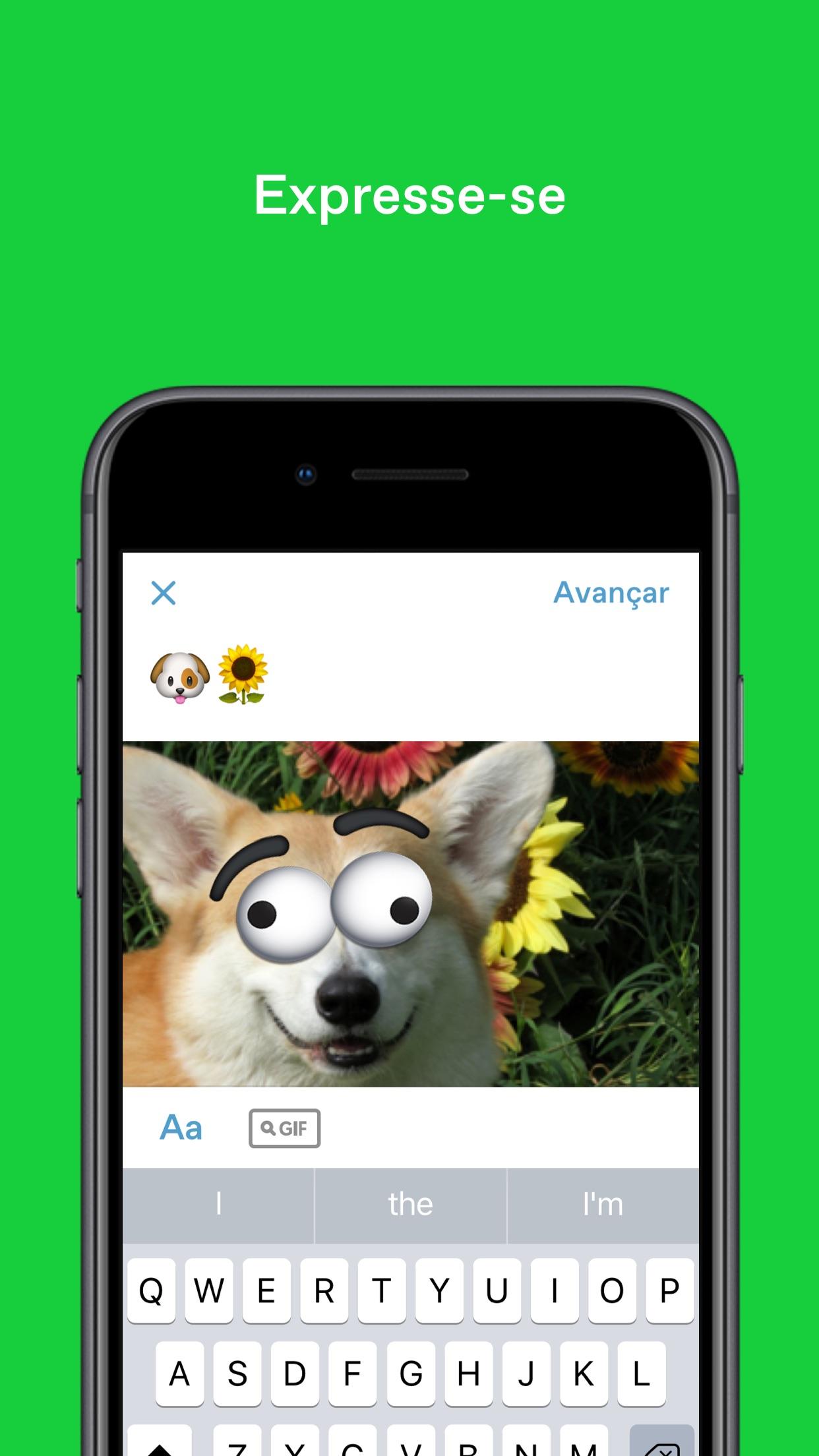 Screenshot do app Tumblr – Cultura, Arte e Caos