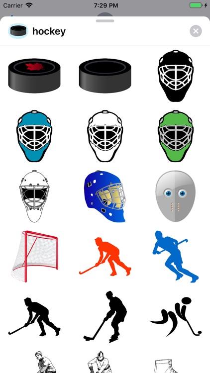 Lotsa Hockey Stickers