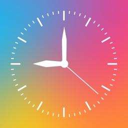 Digital Analog Clock Widget