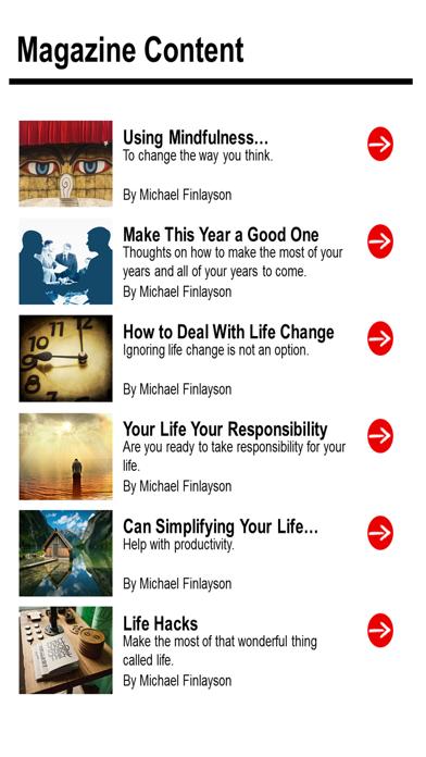 Your Personal Development Magazine - Take Control of Who You Are with Your Personal Development screenshot three