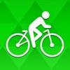 Bicycle ride tracker: bike map