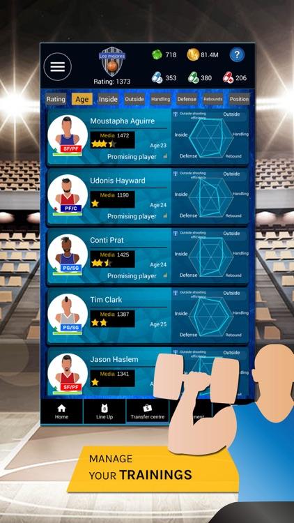 Basketball Manager War 2019 screenshot-4