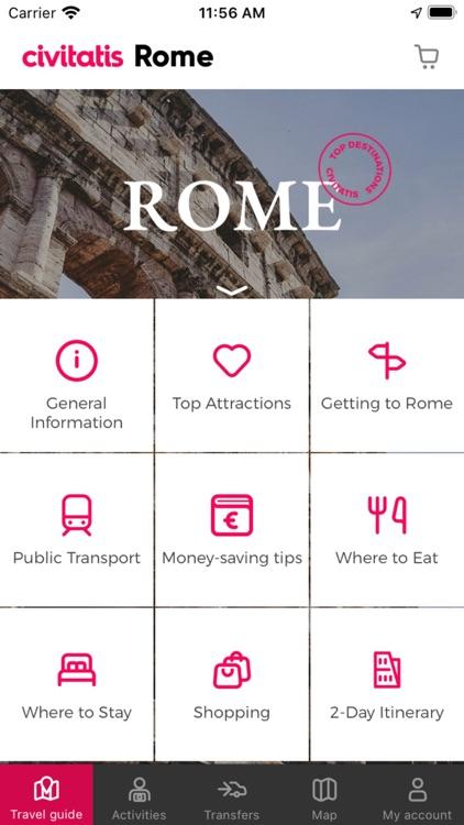 Rome Guide Civitatis.com