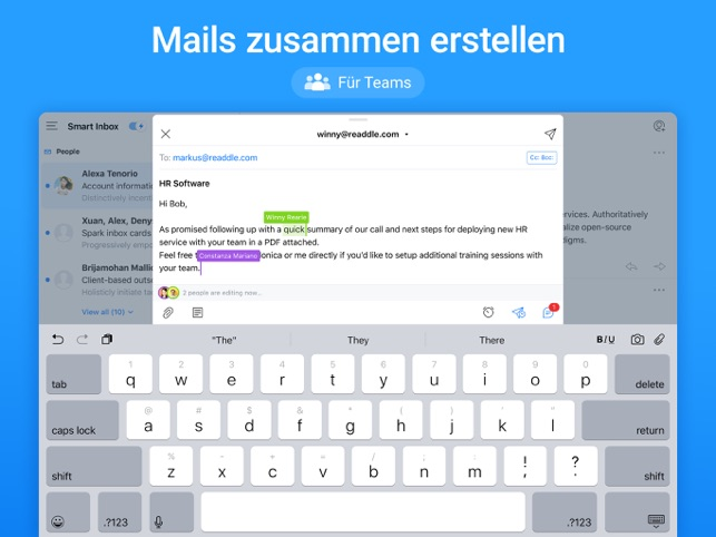 ‎Spark - E-Mail-App von Readdle Screenshot