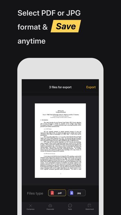 TuboScan: Smart Scanner-App screenshot-5