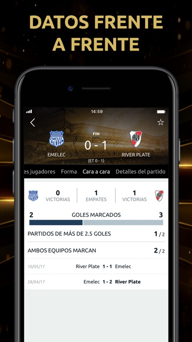 Screenshot for CONMEBOL Libertadores in Czech Republic App Store