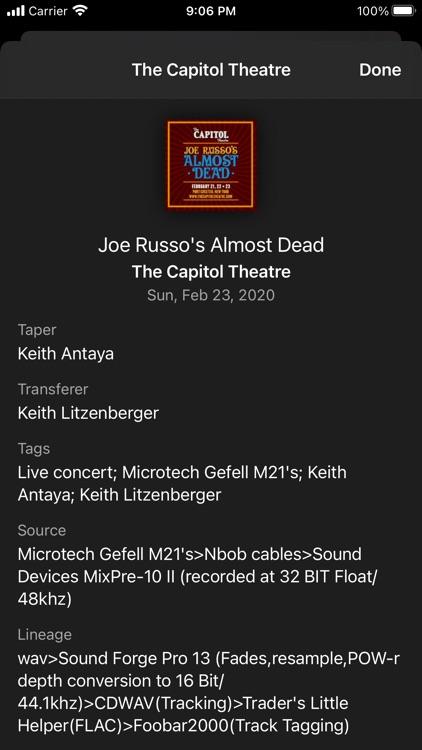 Live Music Archive screenshot-4