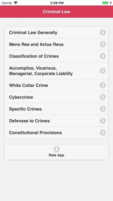 Criminal Law Study app image