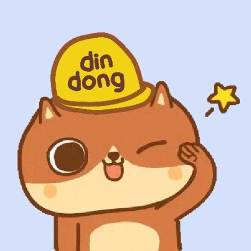 癲噹DinDong Sticker
