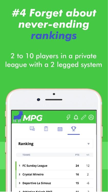 MPG Football screenshot-4
