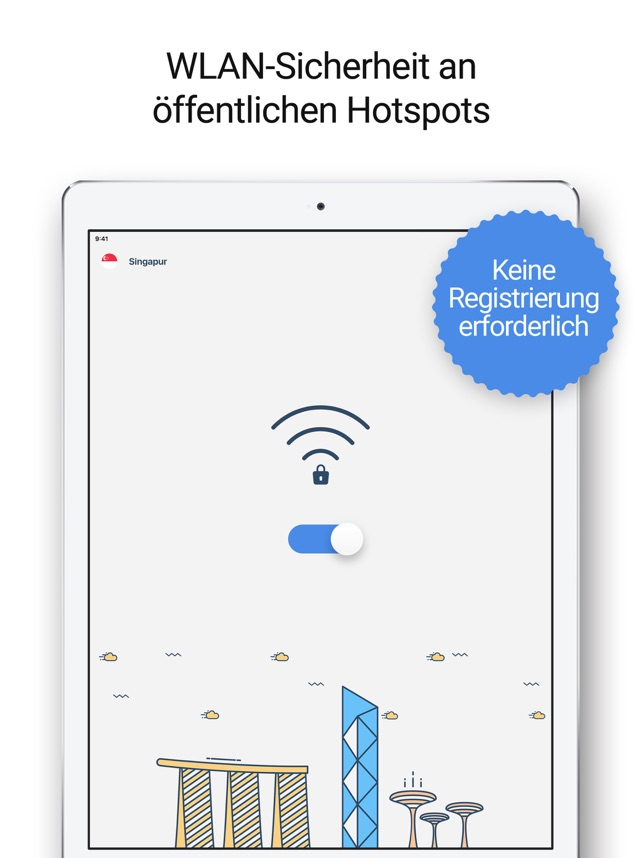#VPN - WiFi Hotspot Sicherheit Screenshot