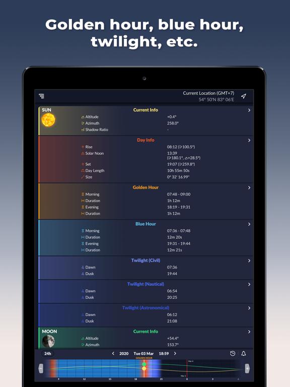 Ephemeris: Sun & Moon Calendar screenshot 12