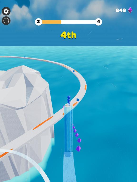 Ice Lava Run screenshot 16
