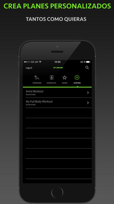 Fitness Online - Entrenador Personal Y Diario De EjercicioCaptura de pantalla de4