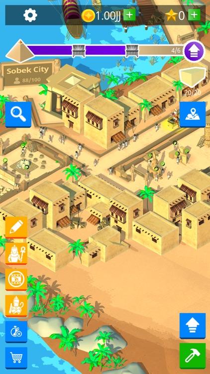 Idle Egypt Tycoon: Empire Game screenshot-5