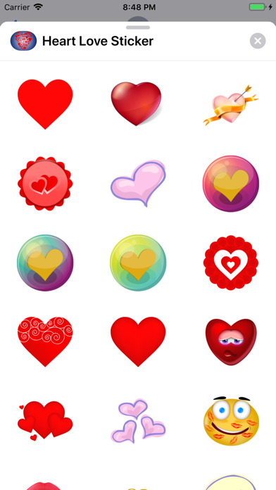点击获取Heart Love Sticker