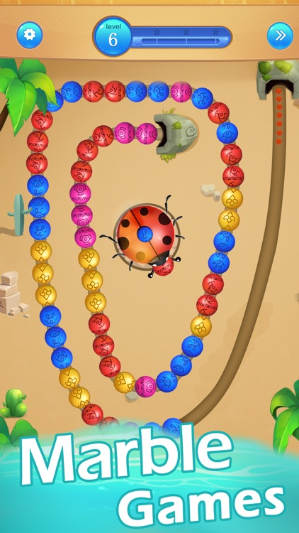Marble Games-Ball Blast Game screenshot-0