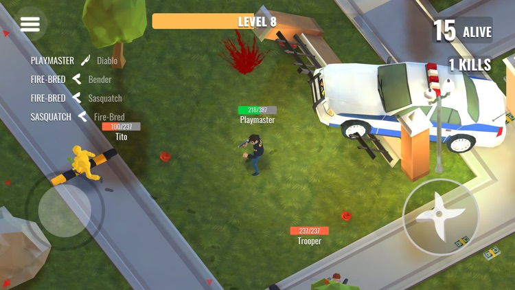 Spider Hero: Battle Royale screenshot-0