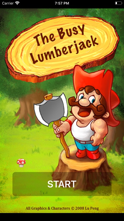 The Busy Lumberjack