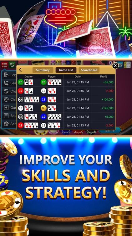 Blackjack 21 Dragon Ace Casino screenshot-5